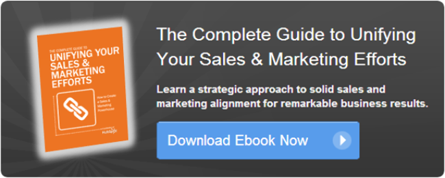 unifying sales and marketing ebook