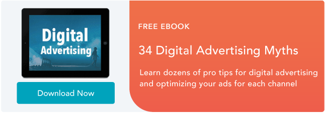 Digital advertising myths ebook