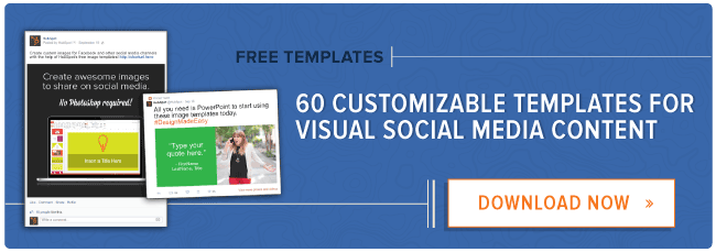 download 60 customizable social media graphic templates