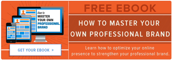 get the free guide to mastering your professional brand