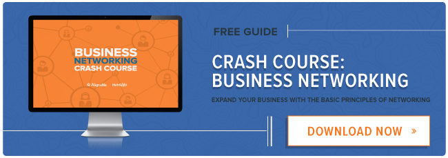 free guide: the business networking crash course