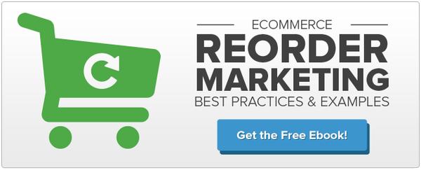 Ecommerce Reorder Marketing