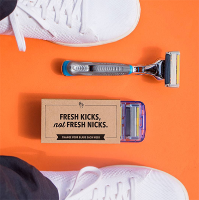 Dollar Shave Club no Instagram