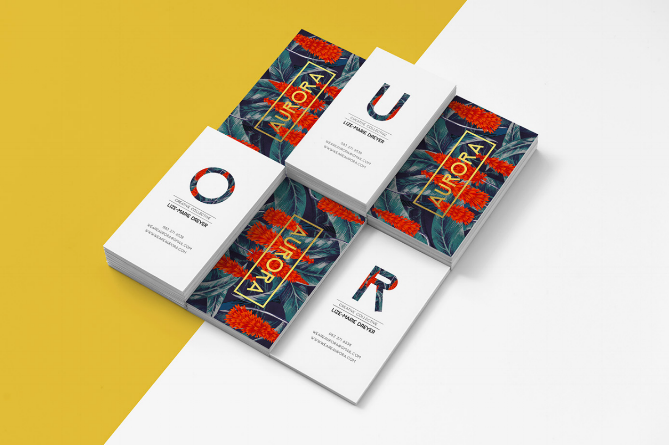 16 of the most creative business card designs from agencies aurora reheart Gallery
