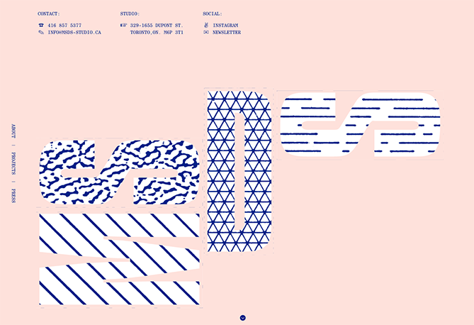 15 Web Design Trends to Watch in 2018 geometic patterns