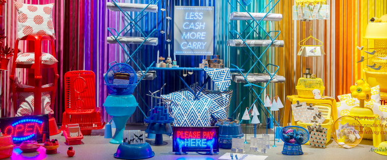 15 creative examples of branded pop up shops for Retail store setup ideas
