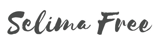 Selima free script font