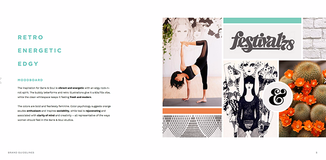 22 Brand Style Guide Examples for Visual Inspiration style barre 01