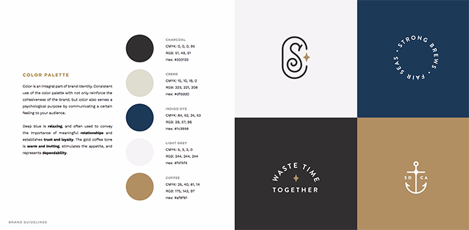 22 Brand Style Guide Examples for Visual Inspiration style coffee 01