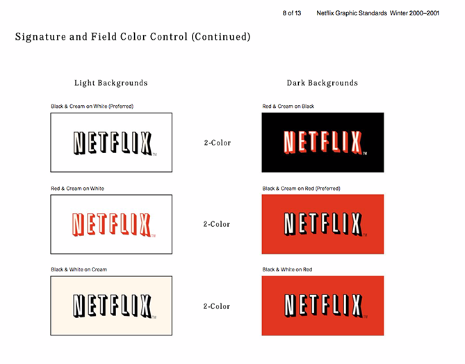 22 Brand Style Guide Examples for Visual Inspiration style netflix 01