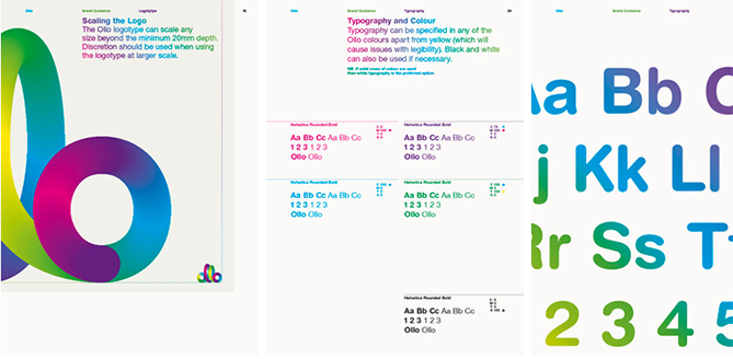 22 Brand Style Guide Examples for Visual Inspiration style ollo 02