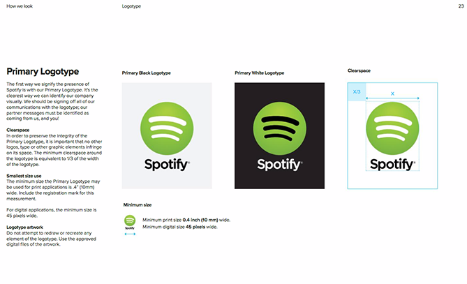 22 Brand Style Guide Examples for Visual Inspiration style spotify 02