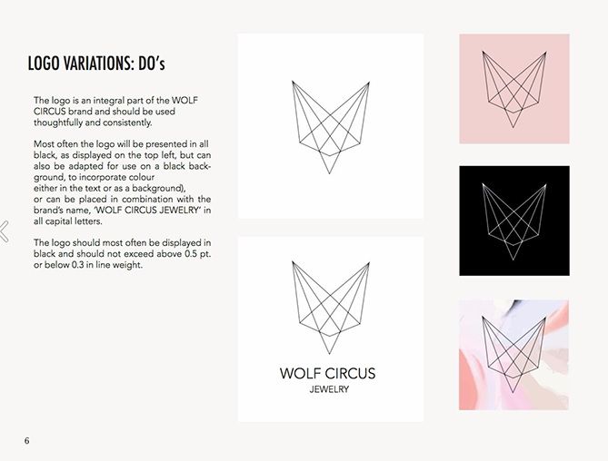 22 Brand Style Guide Examples for Visual Inspiration style wolf 01