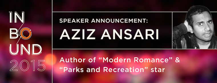 We Have a New INBOUND Speaker to Tell You About. Maybe You've Heard of Him?