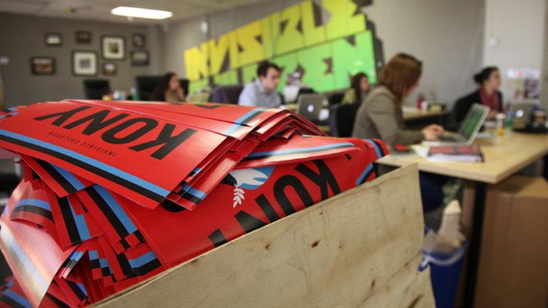 Kony 2012 campaign materials