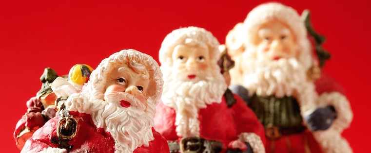 24 Iconic Santa Claus Advertisements From the Past 100 Years