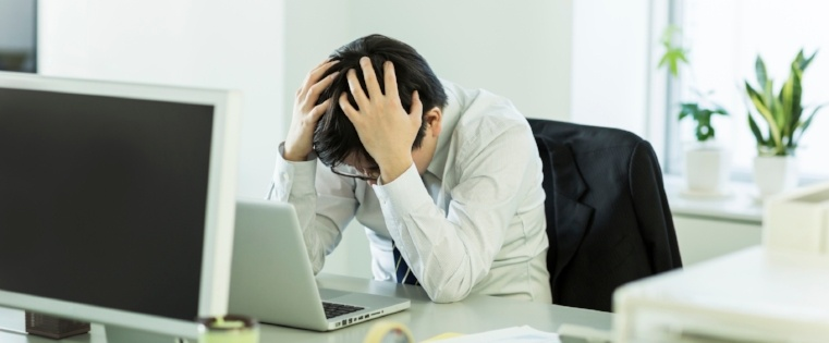 The Hazards of Working a Desk Job & How to Overcome Them [Infographic]