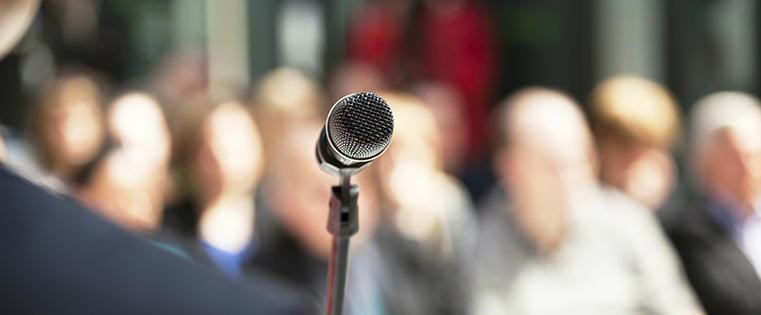 How to Use Public Speaking to Create an In-Demand Agency