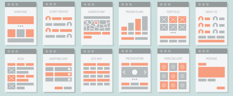 website development plan template