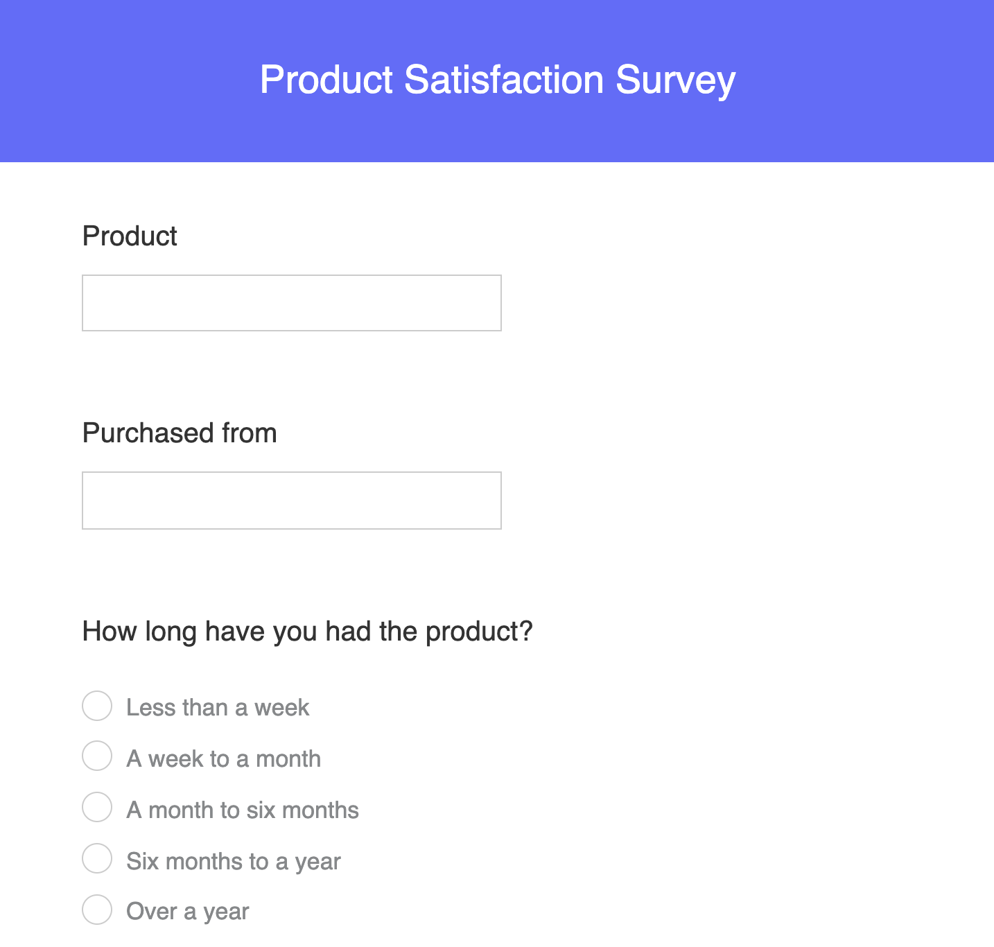 Zoho-survey-template
