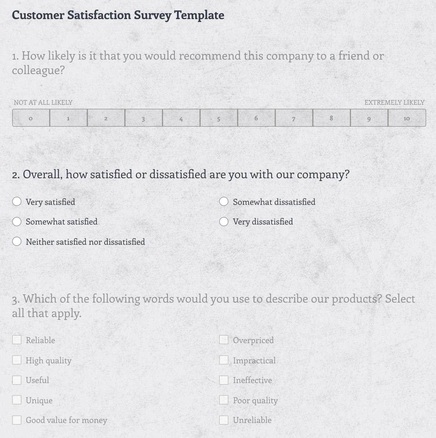 Survey-Monkey-Template