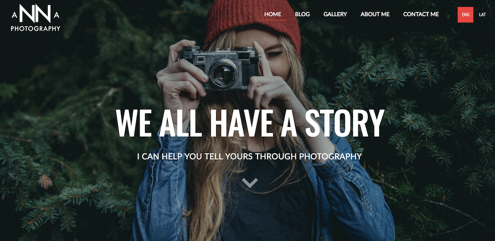 Website by Anna Photography built with Mozello