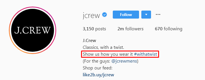 JCrew-Social Proof