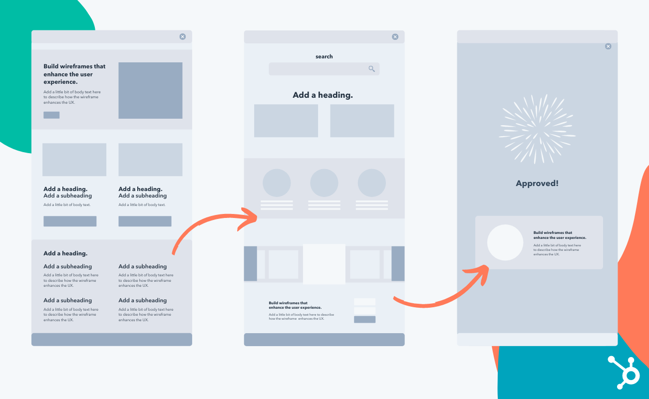 How to create a simple wireframe