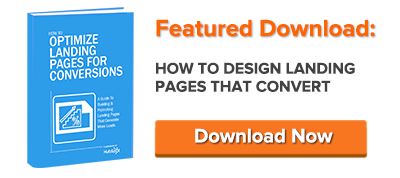 how to design landing pages for conversion