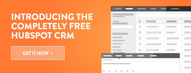 Get HubSpot CRM today!