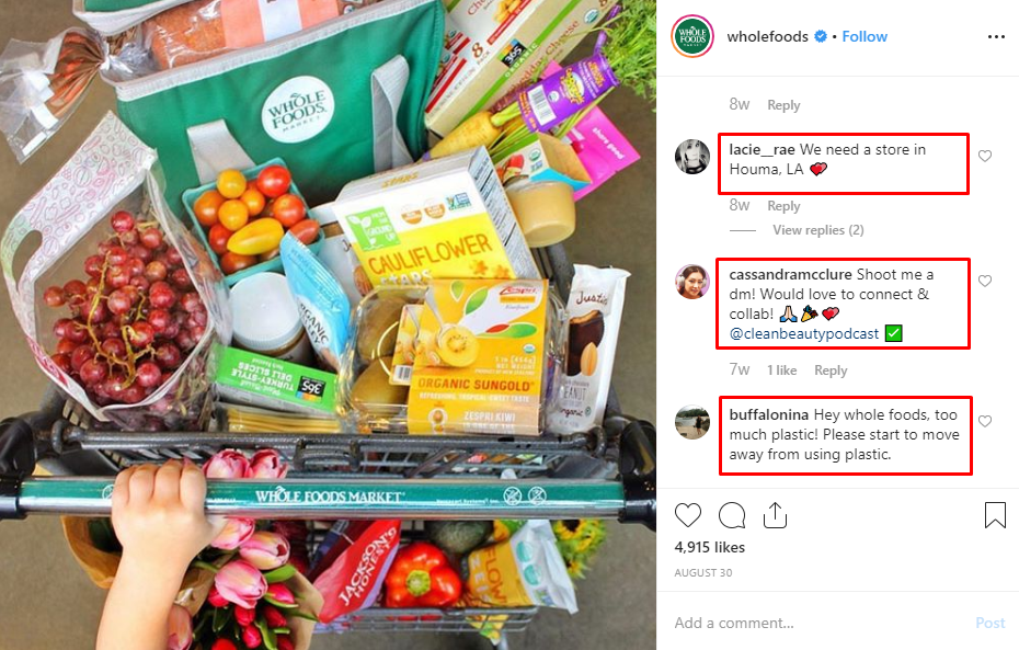 WholeFoods- CustomerFeedback