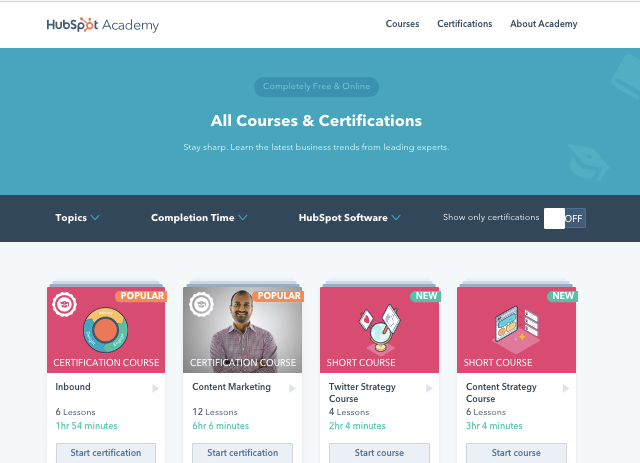 Getting Started With HubSpot Academy