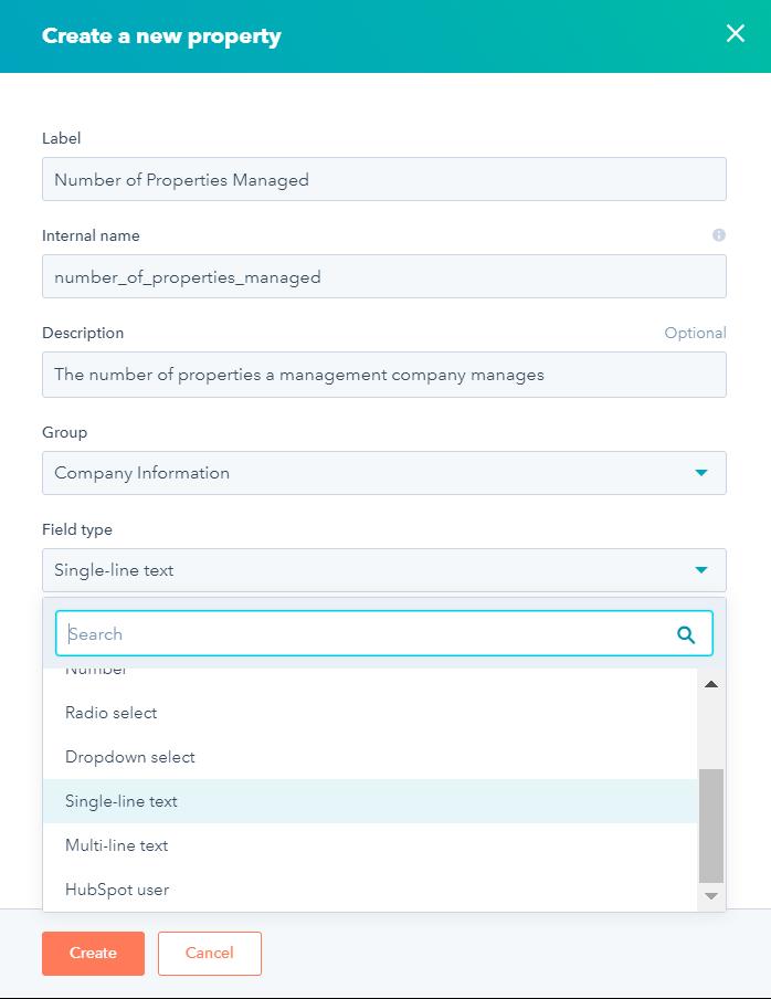 Using Custom Properties in HubSpot