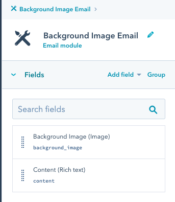 screenshot of right toolbar in design tools