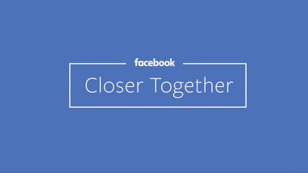Facebook's News Feed Will Once Again Focus on Friends and Family