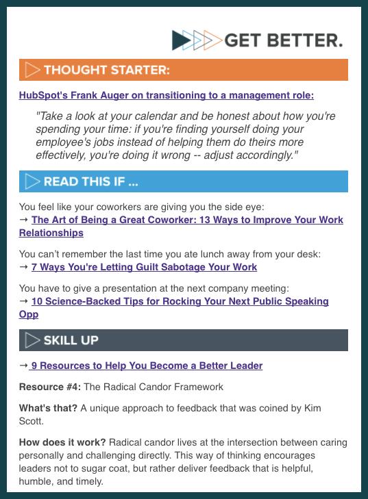 Get Better Newsletter