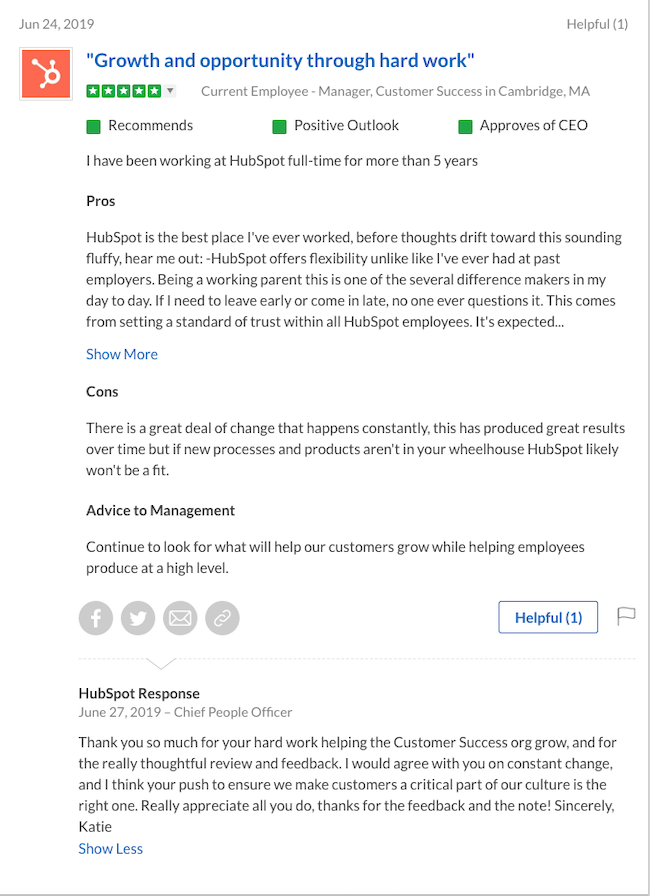 HubSpot-customer-review