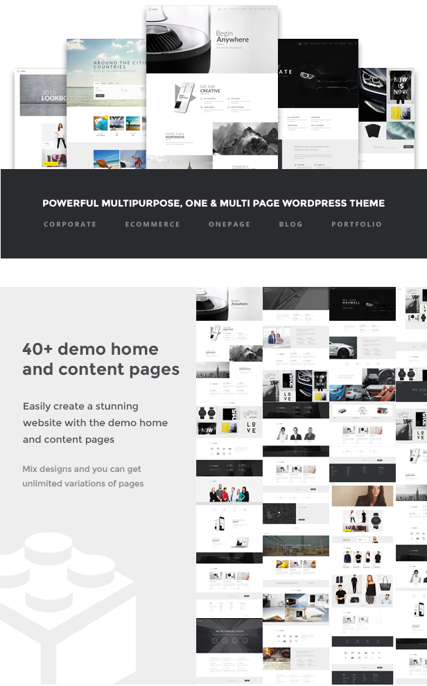 best material design wordpress theme: haswell