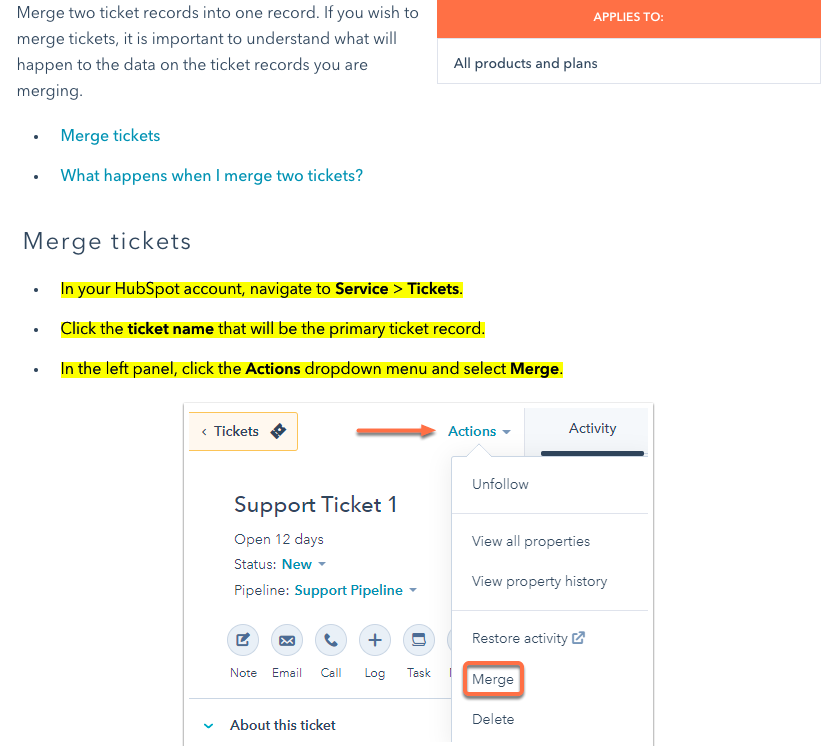 HubSpot-Knowledge-Base-Article