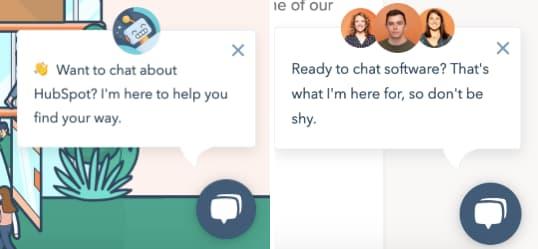 HubSpot-service-widget