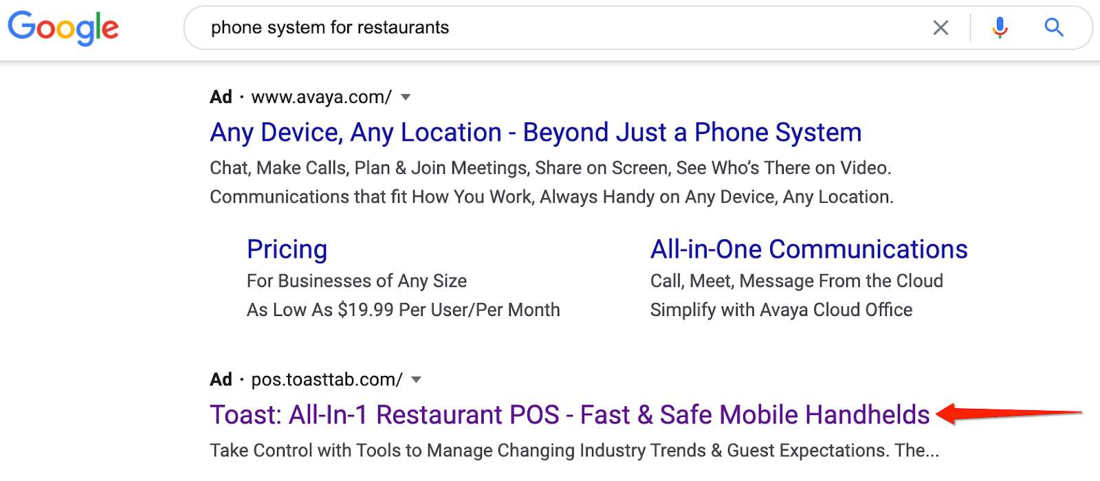 Search results for restaurant telephone systems