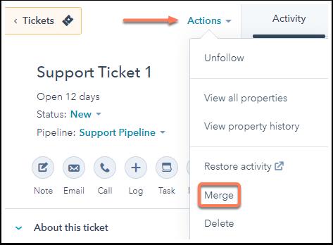 Ticket-Merge-hubSpot