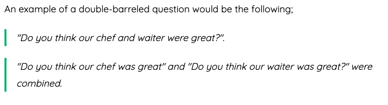 Double-barrel-question