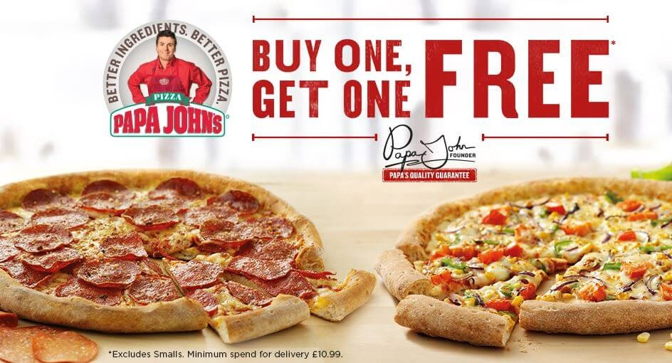 promotional pricing papa johns
