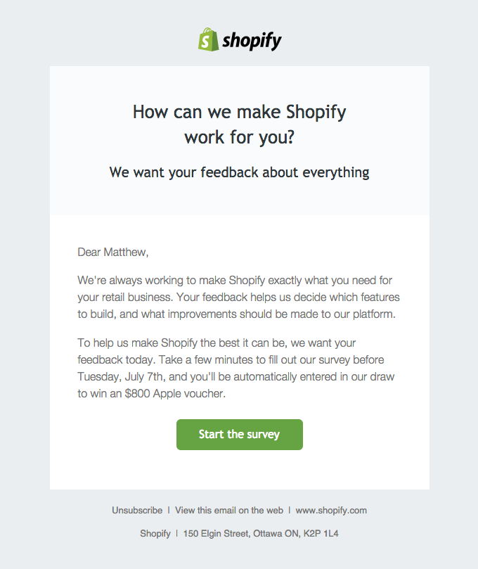 Shopify marketing emails for engagement