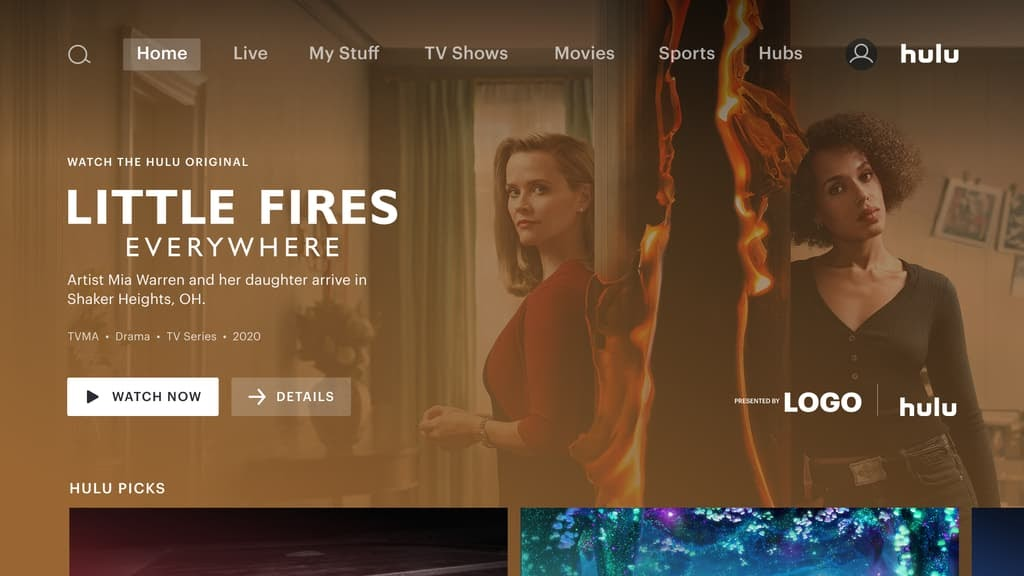 Hulu Ad Manager Ad Product Example