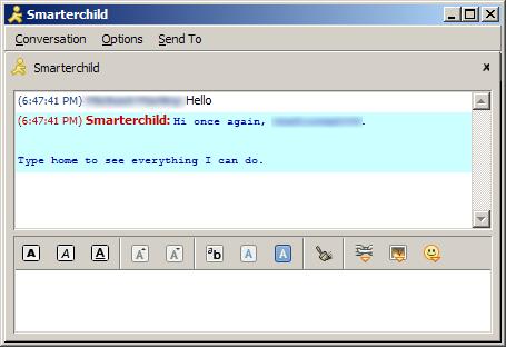 Smarterchild-chatbot