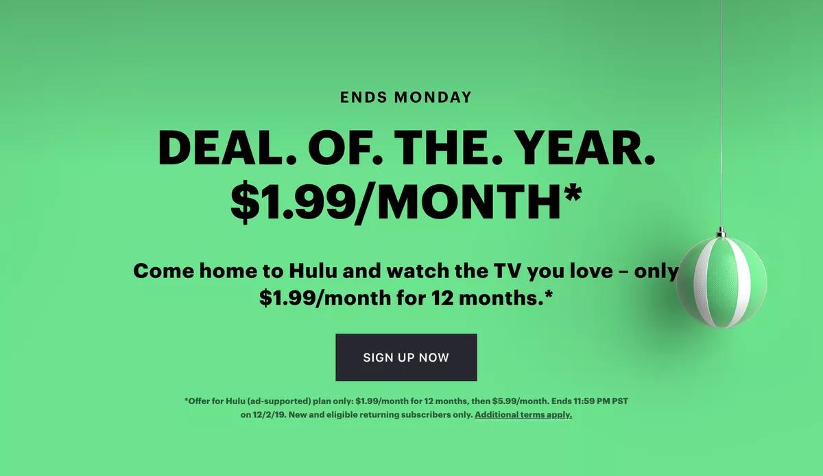Hulu-subscription-model