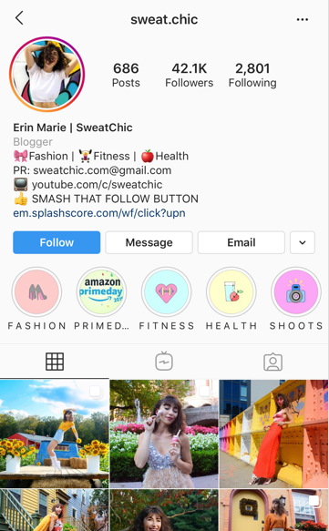 How One Instagram Influencer Built Her Brand and Attracted 40K Followers 1