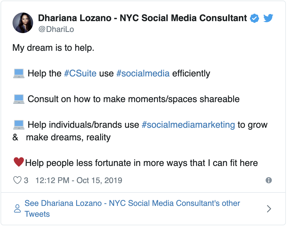 How One Social Media Consultant Builds Her Clients' Brand Influence on Twitter 1